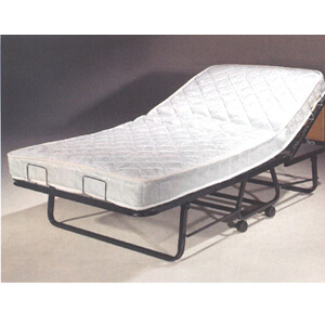 The Twin Size Supreme Deluxe Roll-away Bed With Orthopedic Mattress(275 Lbs Weight Capacity)(Free Shipping)