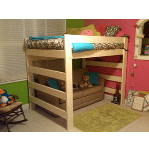 Rent The Premier All Sizes Solid Wood Loft Bed