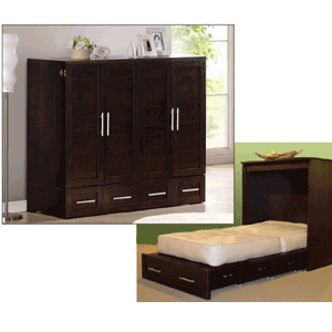 Capuchinno Studio Cabinet Bed 10_-20(FCFS)