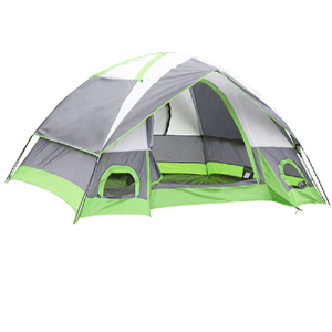 4-Person Camping/Traveling Family Dome Tent with Compression Bag (AZFS)