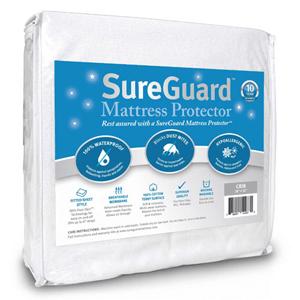 SureGuard Mattress Protector - 100% Waterproof MATPRO-FSC(AZFS)